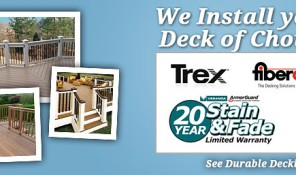 See the Most Durable Options on the Market today! Decks build to last.